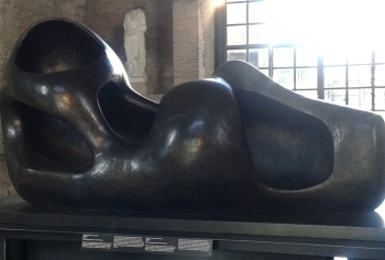 Henry Moore alle Terme di Diocleziano