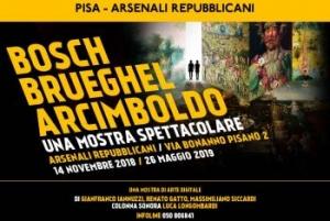 Bosch, Brueghel, Arcimboldo, una mostra spettacolare – Arsenali Repubblicani (Pisa)