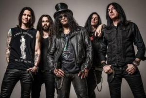Anche Slash torna live in concerto al Rock in Roma