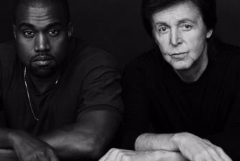"Paul McCartney e Kanye West duettano in ""Only One"""