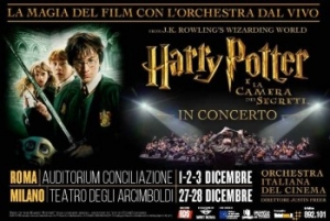 """Harry Potter e la Camera dei Segreti"" in concerto all'Auditorium Conciliazione di Roma"